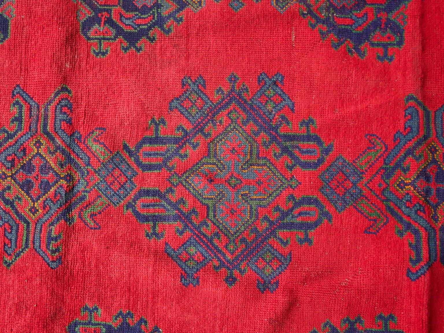 gro er antiker t rkischer teppich bei pamono kaufen. Black Bedroom Furniture Sets. Home Design Ideas