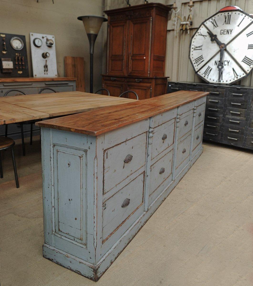 meuble tiroirs vintage commercial 1940s en vente sur pamono. Black Bedroom Furniture Sets. Home Design Ideas
