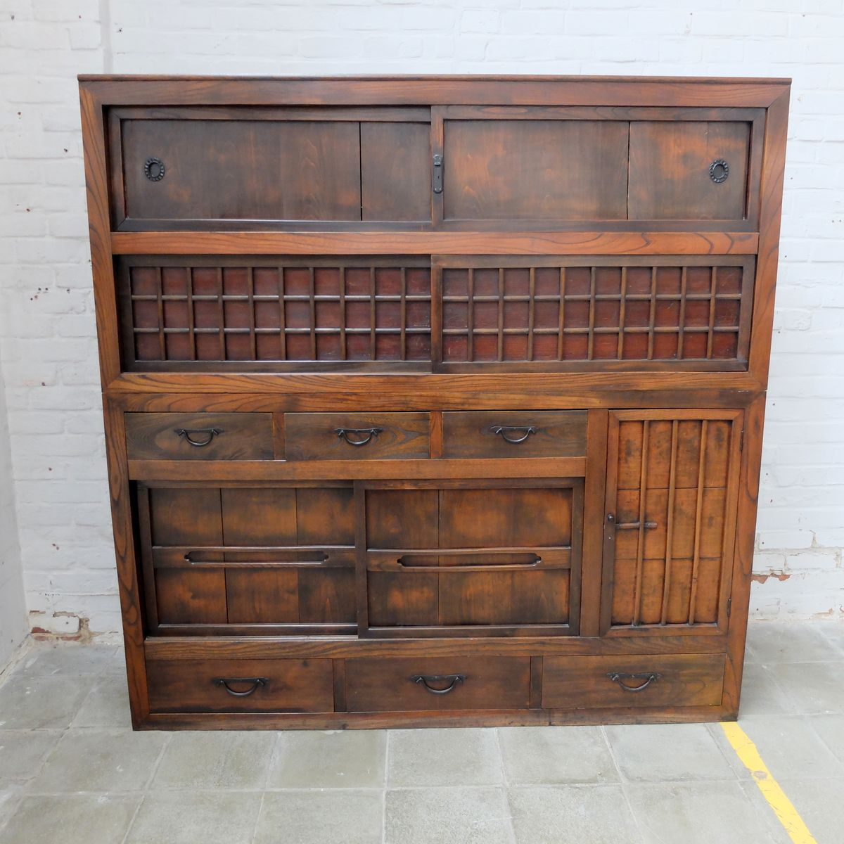 Antique Japanese Kitchen Cabinet - Antique Japanese Kitchen Cabinet For Sale At Pamono
