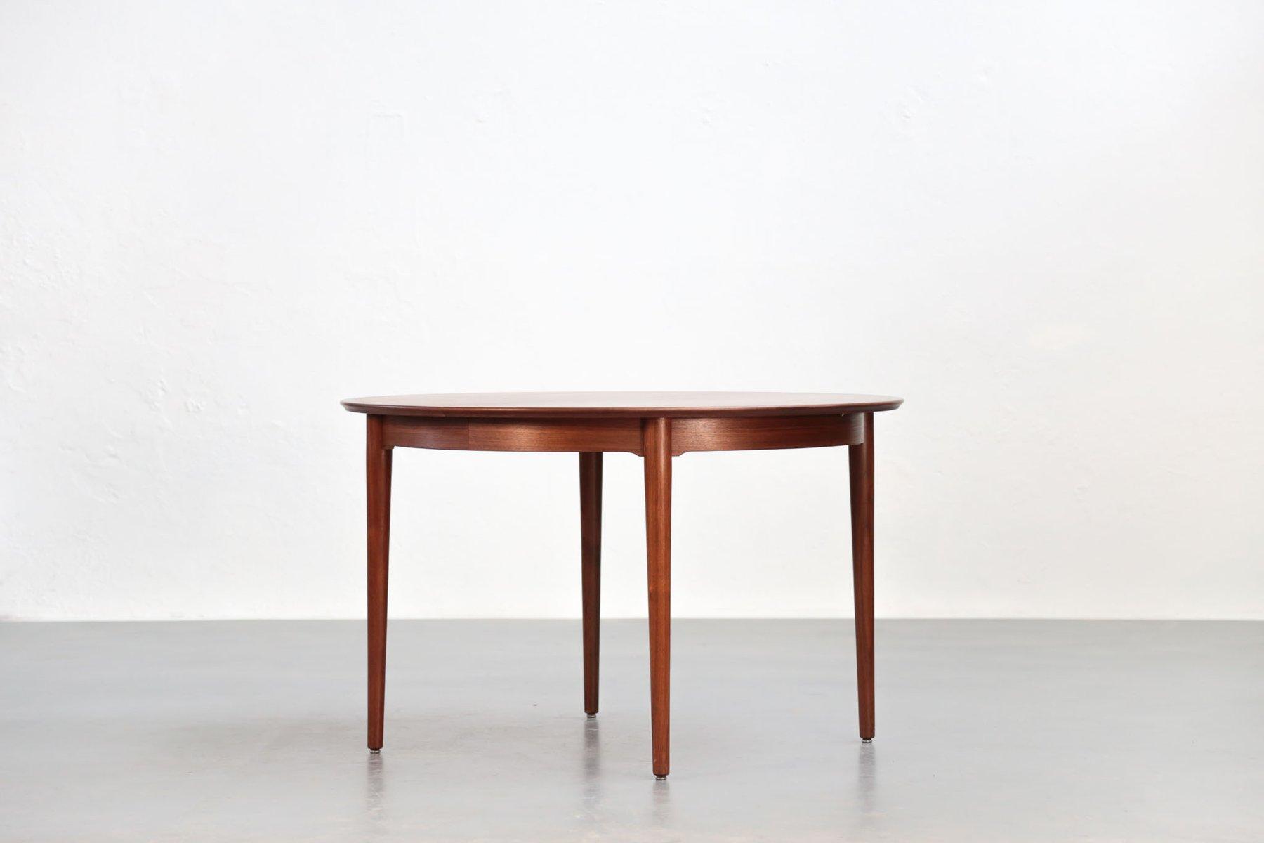 table de salle manger scandinave en teck par arne vodder pour p olsen sibast 1960s en vente. Black Bedroom Furniture Sets. Home Design Ideas