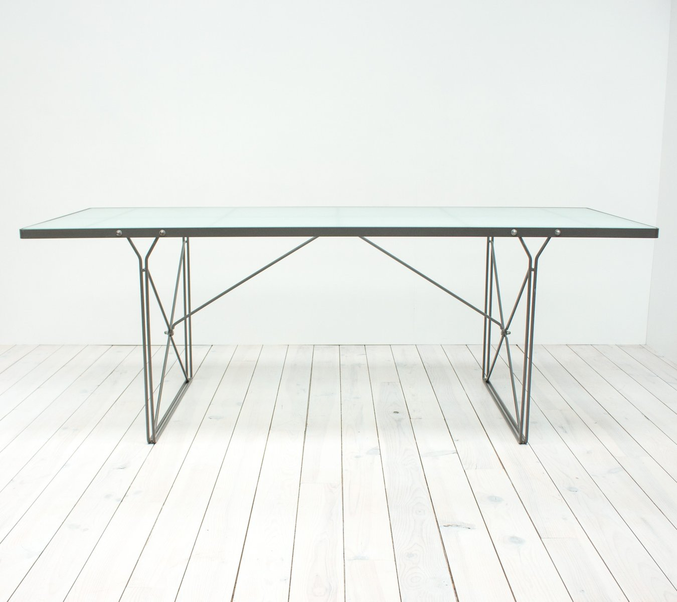 Moment Gl Dining Table By Niels Gammelgaard For Ikea 1987