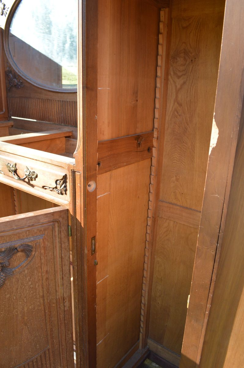 buffet art nouveau 1910s en vente sur pamono. Black Bedroom Furniture Sets. Home Design Ideas
