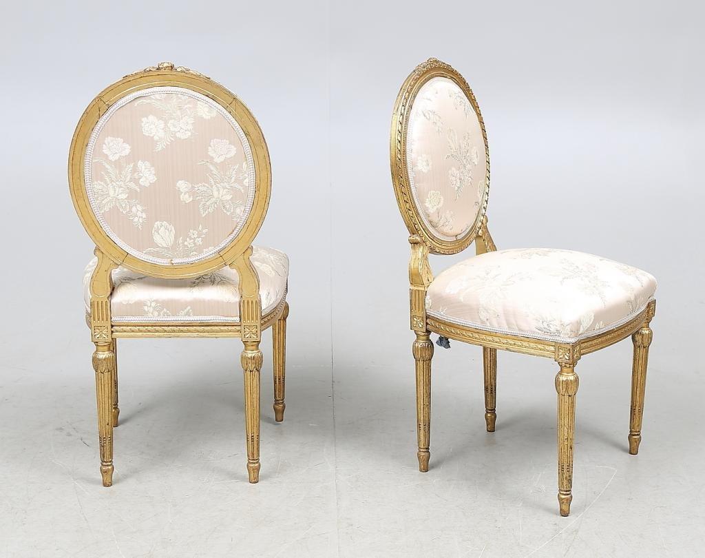 antike st hle im louis xvi stil 2er set bei pamono kaufen. Black Bedroom Furniture Sets. Home Design Ideas