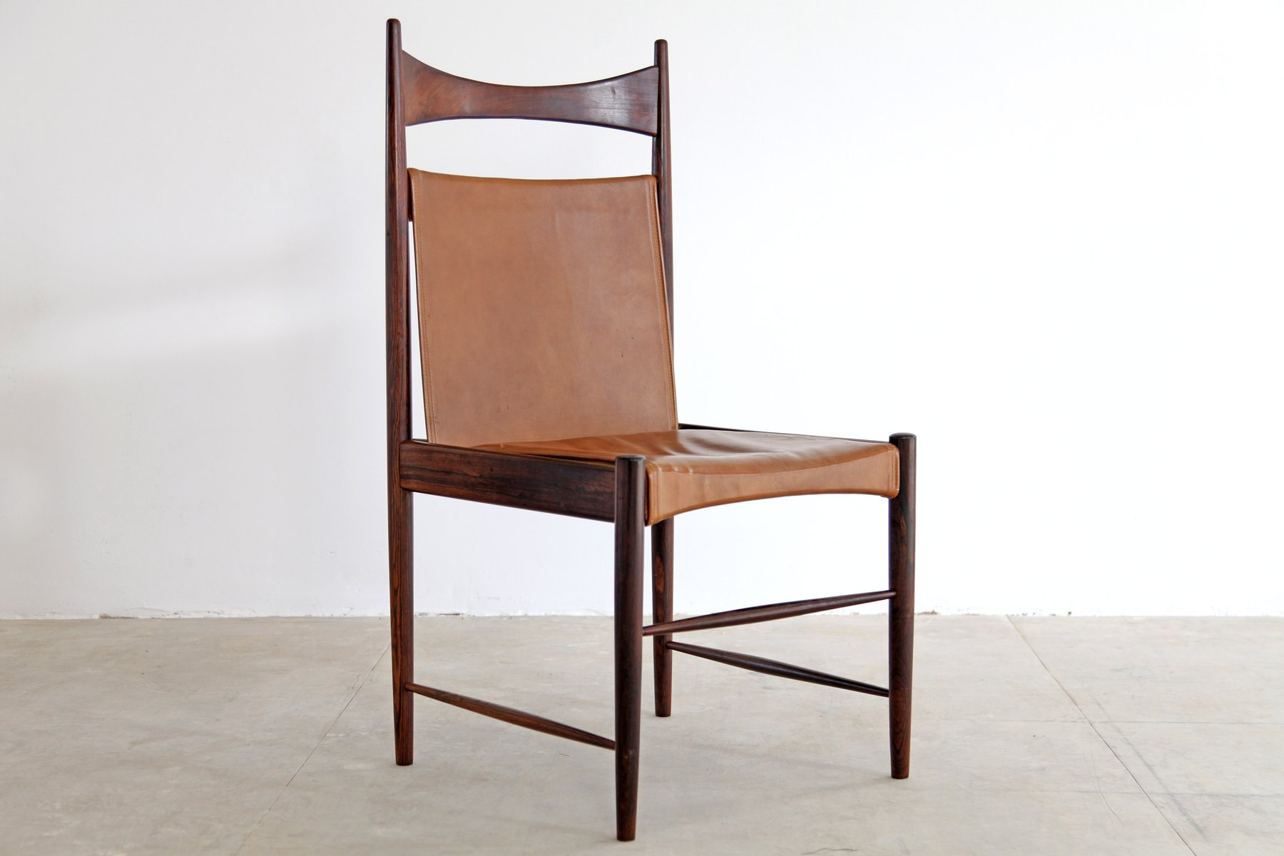 Superieur Brazilian Cantu Chairs By Sergio Rodrigues, 1950s, Set Of 8