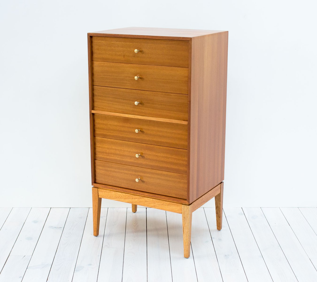 mid century teak kommode von uniflex bei pamono kaufen. Black Bedroom Furniture Sets. Home Design Ideas