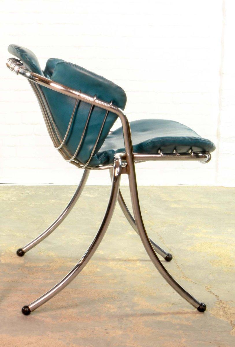 italienische vintage lynn esszimmer st hle von gastone. Black Bedroom Furniture Sets. Home Design Ideas