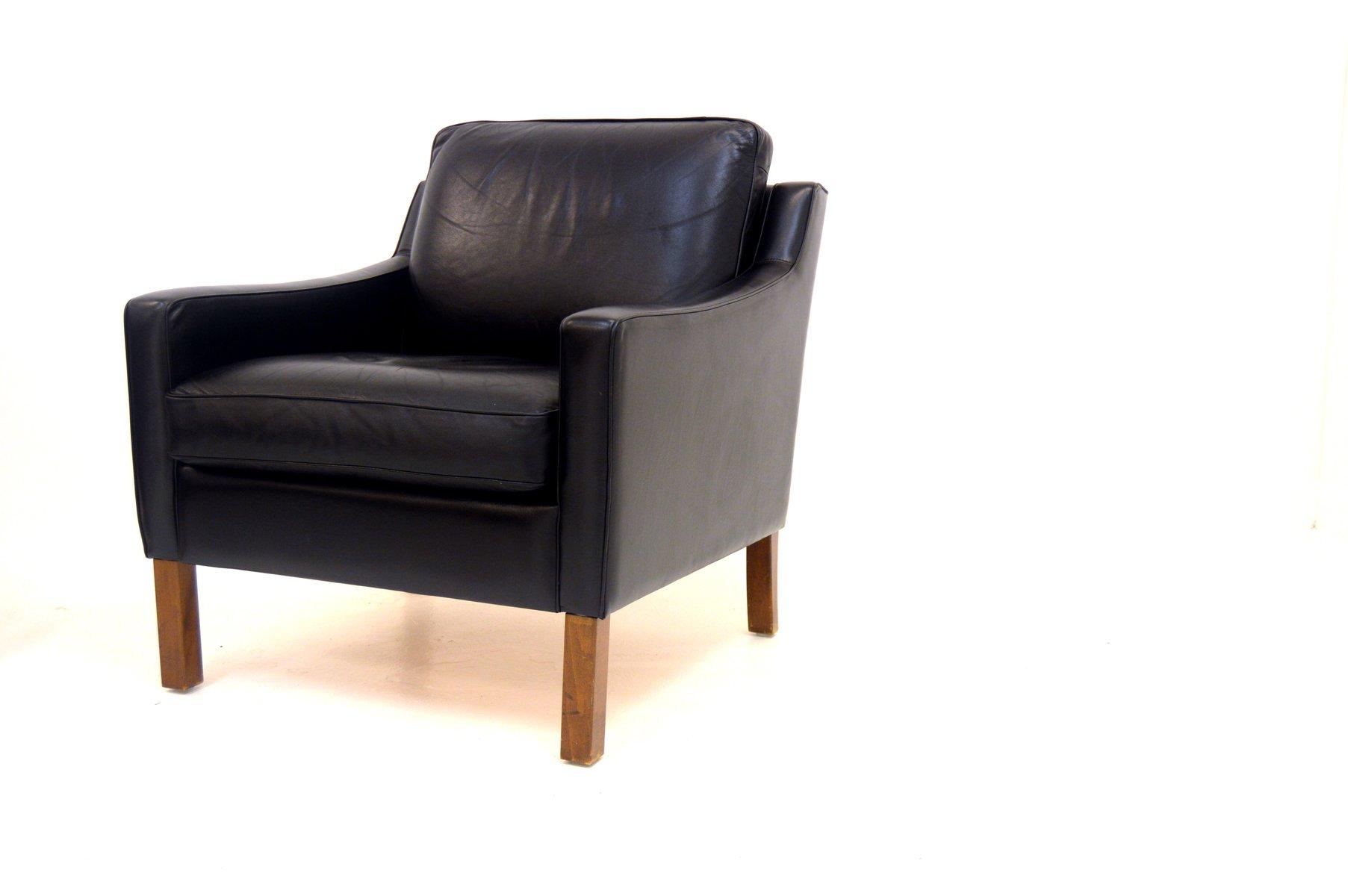 Leder Sessel, 1960er 2er Set