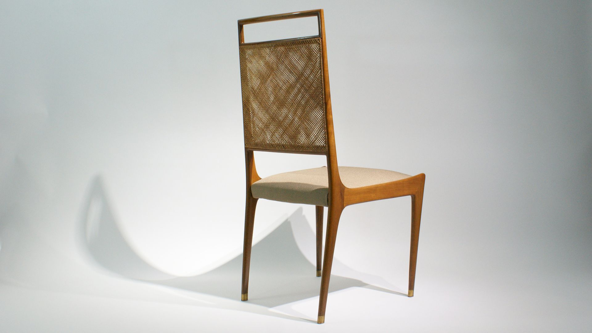 franz sische st hle aus palisander korbgeflecht 1950er 2er set bei pamono kaufen. Black Bedroom Furniture Sets. Home Design Ideas