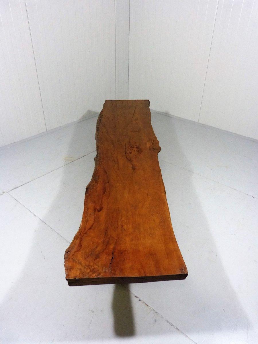 grande table basse tronc d arbre recycl vintage en vente sur pamono. Black Bedroom Furniture Sets. Home Design Ideas