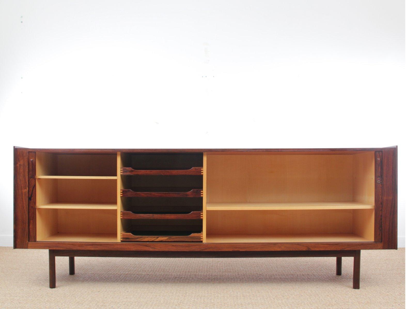 enfilade en palissandre de rio 1970s en vente sur pamono. Black Bedroom Furniture Sets. Home Design Ideas