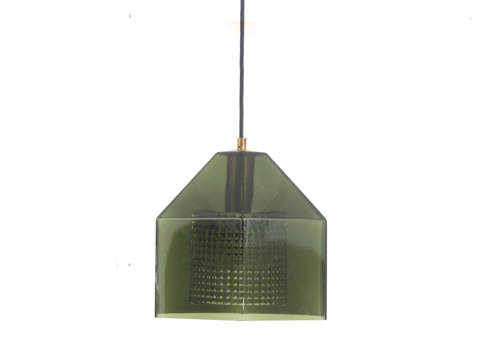 suspension en verre vert par carl fagerlund pour orrefors 1960s en vente sur pamono. Black Bedroom Furniture Sets. Home Design Ideas