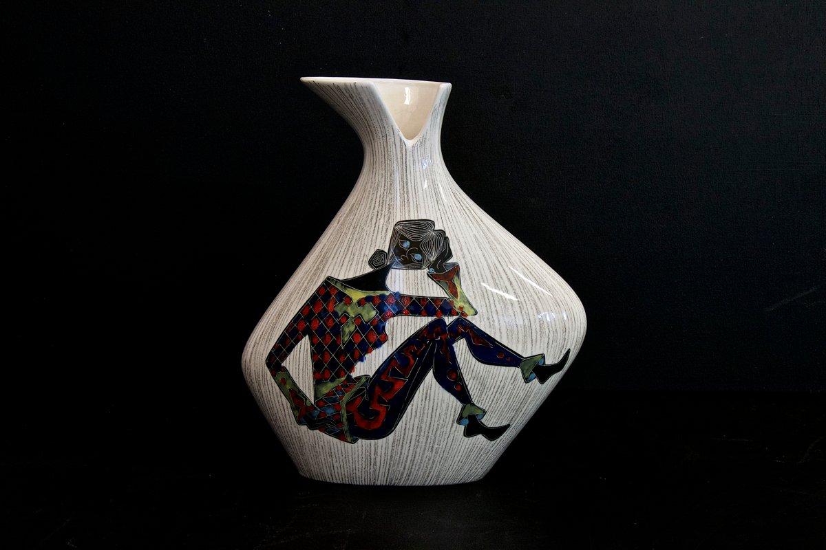 Vaso vintage in ceramica di cemas italia in vendita su pamono