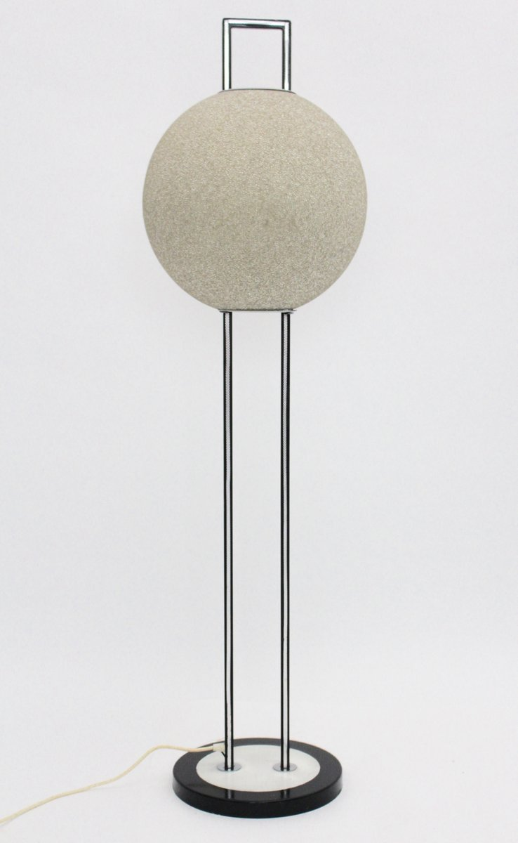 Stehlampe mit Kugelförmiger Leuchte, 1960er