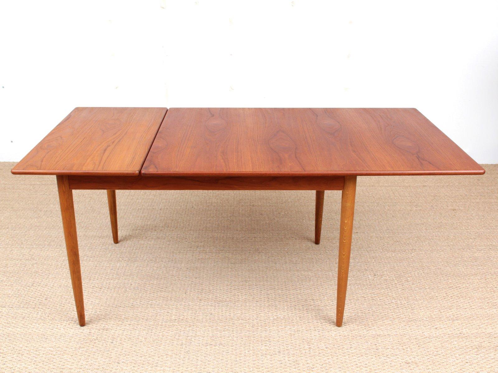 table de salle manger scandinave par yngve ekstr m pour hugo troeds 1950s en vente sur pamono. Black Bedroom Furniture Sets. Home Design Ideas