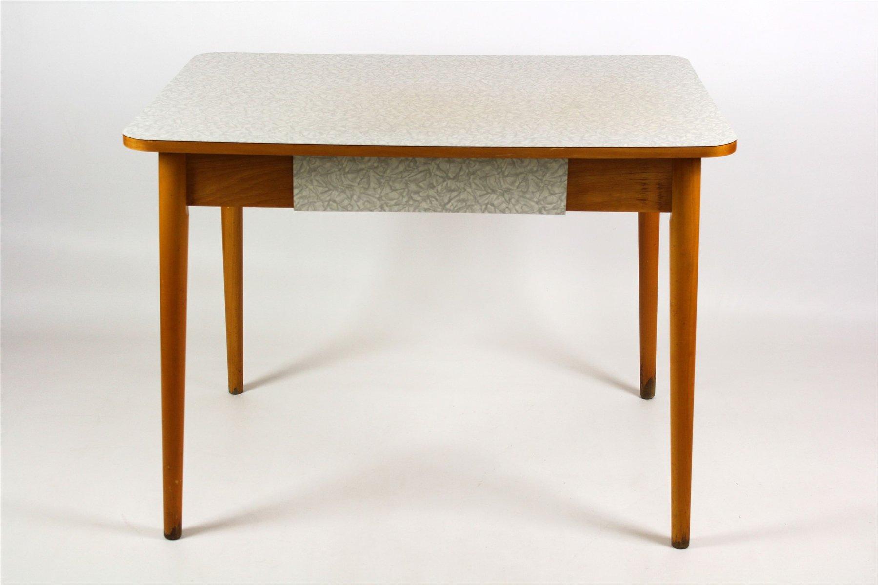 Tavolo da cucina in legno di formica di Jitona, anni \'60
