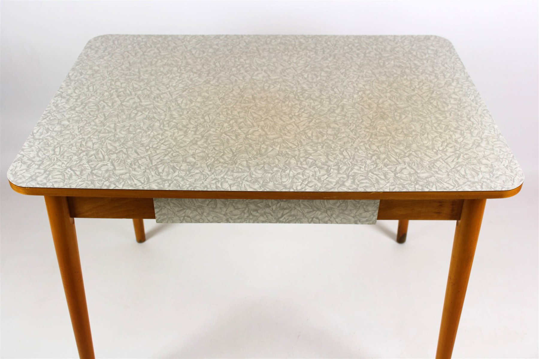Tavolo da cucina in legno di formica di jitona anni 39 60 for Tavolo da cucina legno