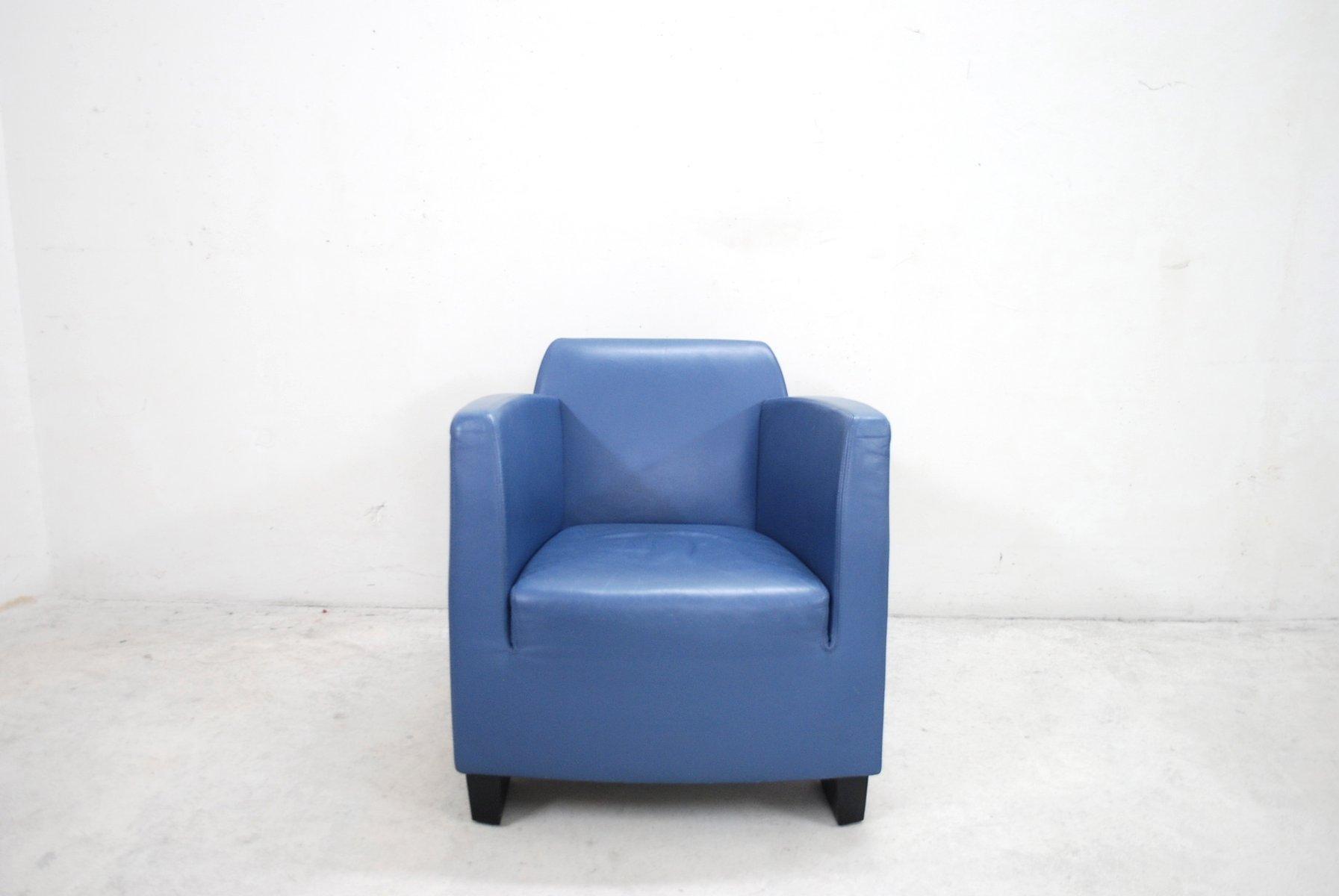 Vintage Leder Sessel von Kurt Erni für Team by Wellis