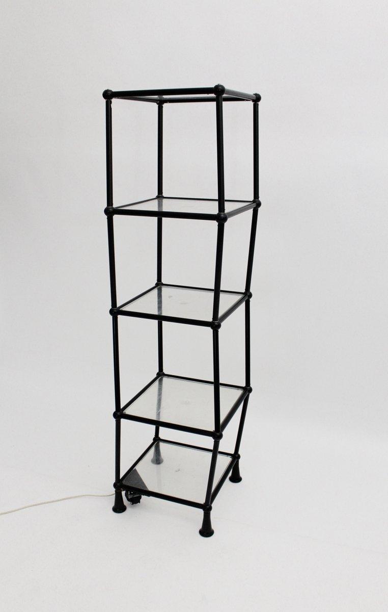 Tanzendes schwarzes regal 1970er bei pamono kaufen for Schwarzes regal
