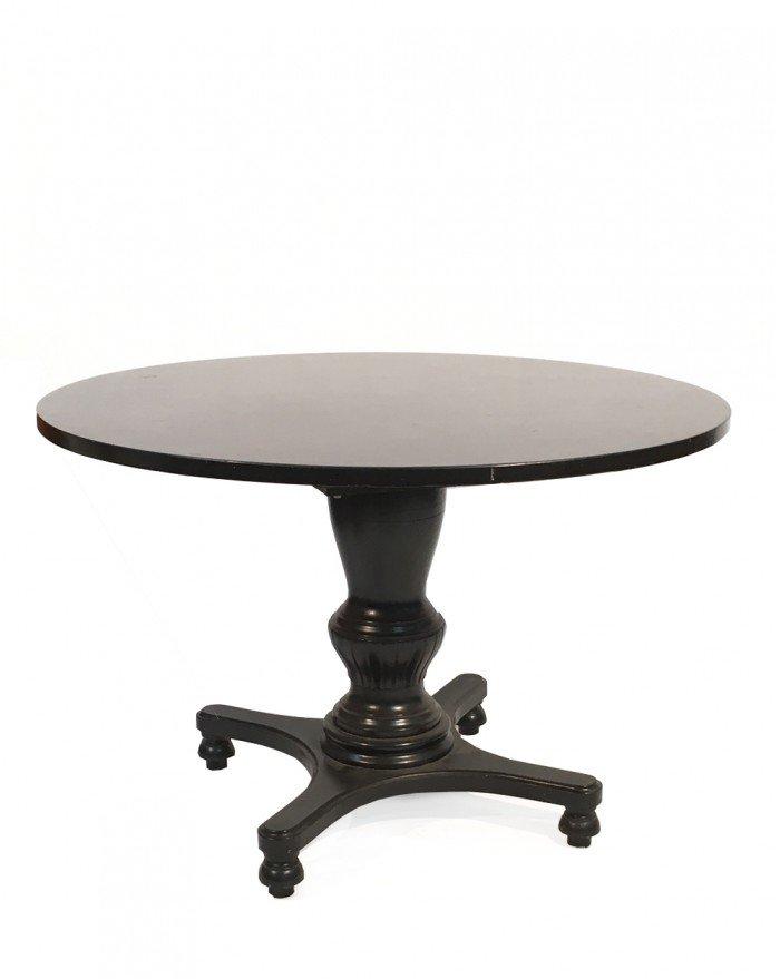 Schwarzer schwedischer vintage tisch bei pamono kaufen for Schwarzer tisch
