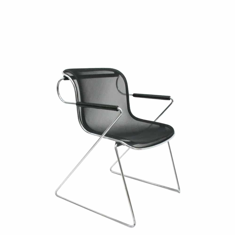 penelope stuhl von charles pollock f r castelli 1980er bei pamono kaufen. Black Bedroom Furniture Sets. Home Design Ideas