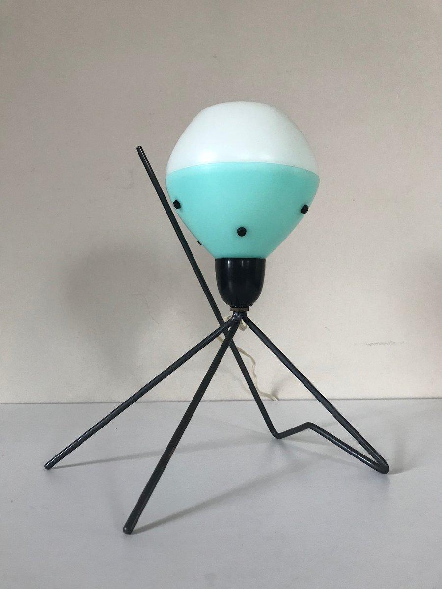 Atomzeitalter Dreibein Lampe, 1960er