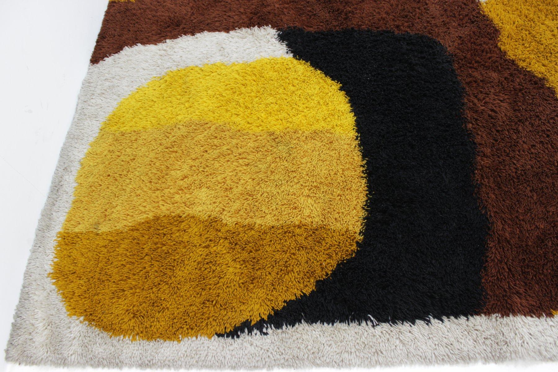 gro er skandinavischer mid century teppich 1960er bei pamono kaufen. Black Bedroom Furniture Sets. Home Design Ideas