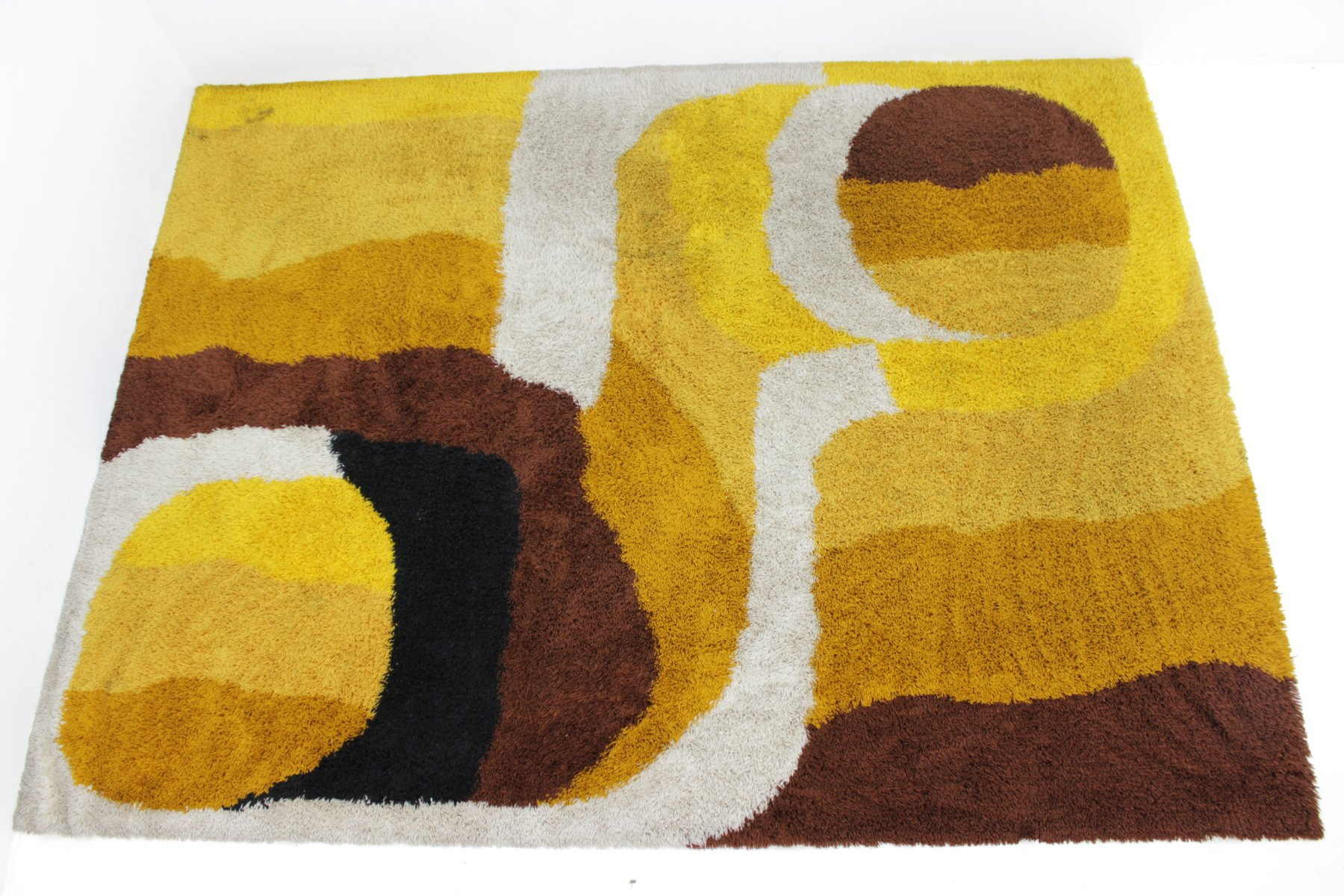 gro er skandinavischer mid century teppich 1960er bei. Black Bedroom Furniture Sets. Home Design Ideas