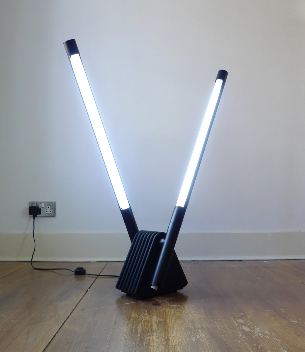 Sistema Flu Lampe von Rodolfo Bonetto für Luci Italia, 1980er