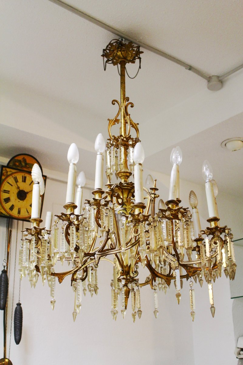 Antique Spanish Chandelier - Antique Spanish Chandelier For Sale At Pamono