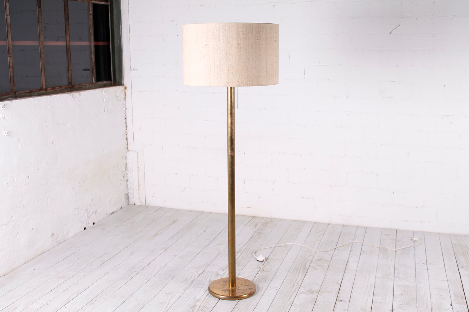 Deutsche Messing Stehlampe von Cosack, 1960er