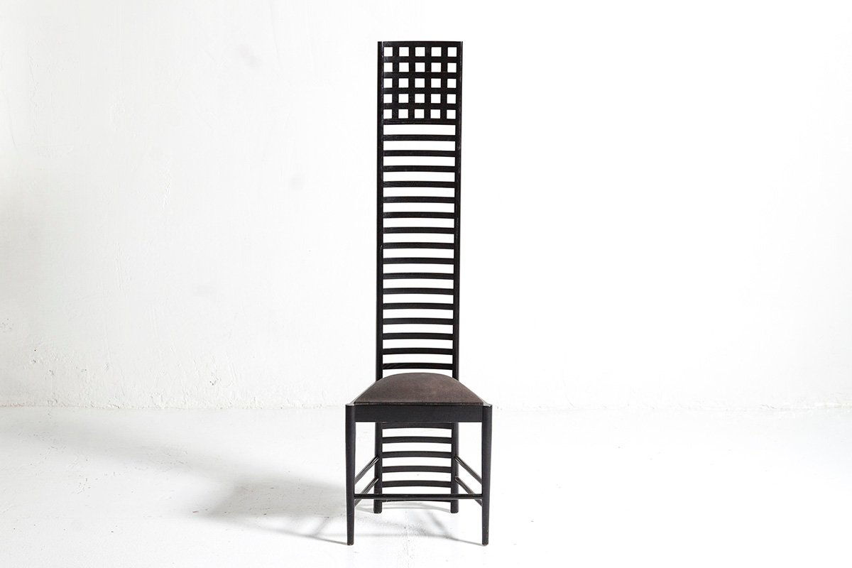 292 Hill House 1 Ladderback Chair By Charles Rennie