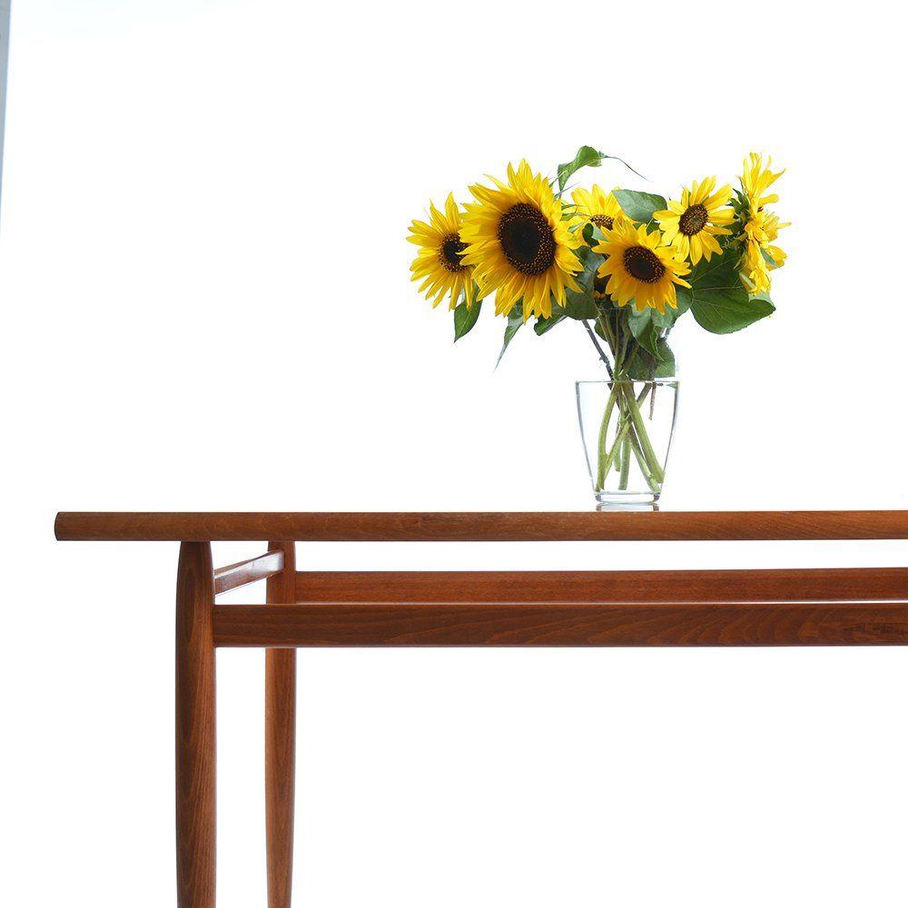 holz esstisch mit mahagoni furnier 1970er bei pamono kaufen. Black Bedroom Furniture Sets. Home Design Ideas