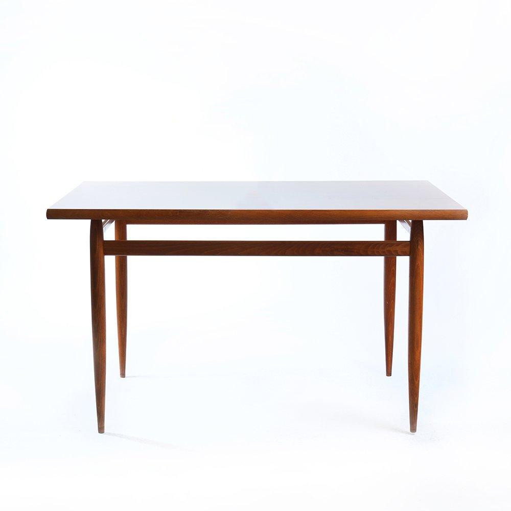 Holz esstisch mit mahagoni furnier 1970er bei pamono kaufen for Esstisch englisch