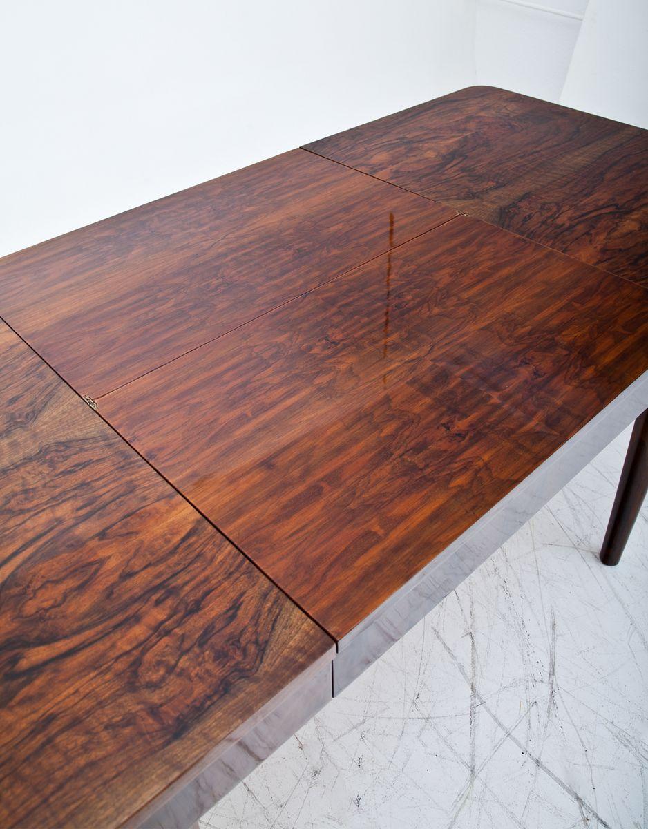 art deco holzfurnier esstisch 1930er bei pamono kaufen. Black Bedroom Furniture Sets. Home Design Ideas