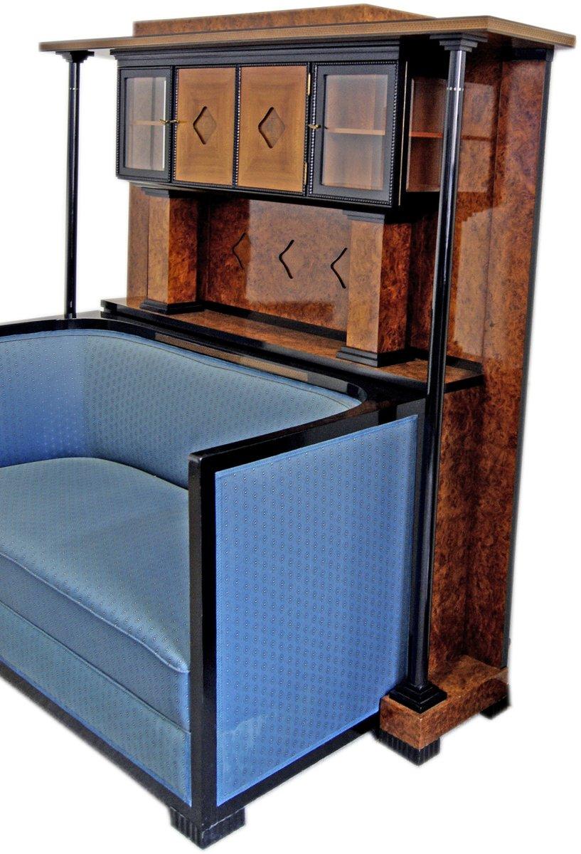schrank mit sofa 1900er bei pamono kaufen. Black Bedroom Furniture Sets. Home Design Ideas