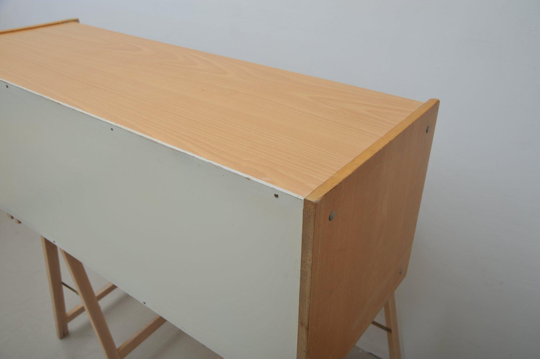 rz57 buche furnier regal von dieter rams f r otto zapf 1950er bei pamono kaufen. Black Bedroom Furniture Sets. Home Design Ideas