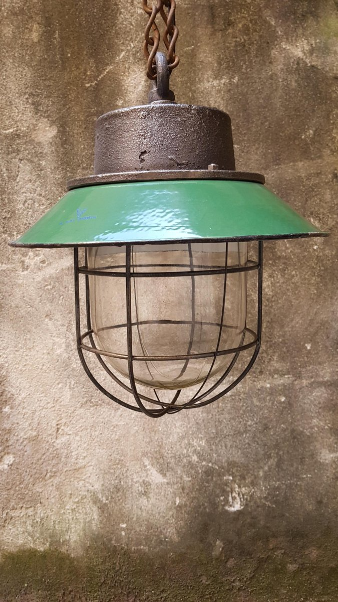 Polnische Industrielle Lampe, 1940er