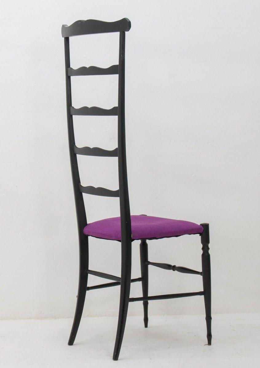 chaise d 39 appoint ladder de chiavari 1940s en vente sur pamono. Black Bedroom Furniture Sets. Home Design Ideas
