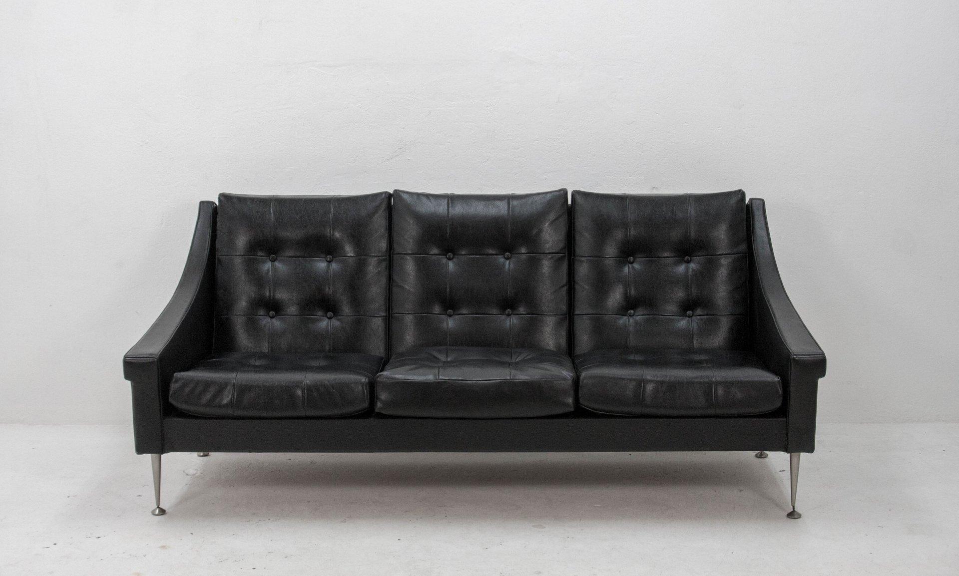Drei sitzer sofa 1950er bei pamono kaufen for Sofa 7 sitzer