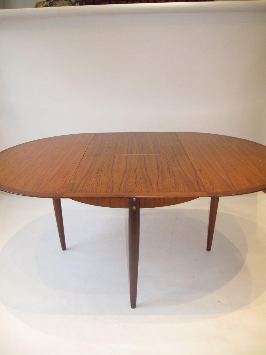 Tavolo Da Pranzo Rotondo Mid Century Francia Anni 39 60 In