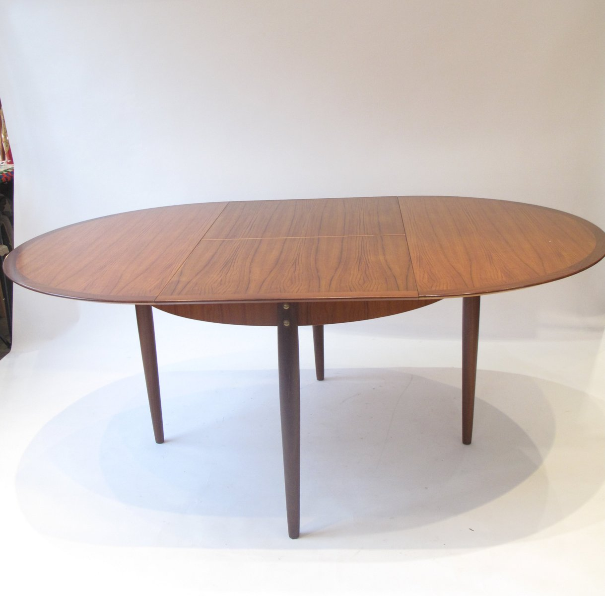 Mid Century French Round Dining Table 1960s For Sale At Pamono