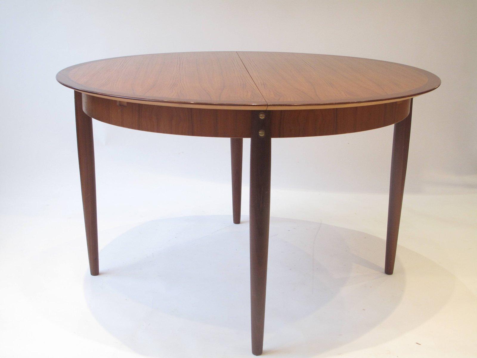 table de salle manger mid century ronde france 1960s en vente sur pamono. Black Bedroom Furniture Sets. Home Design Ideas