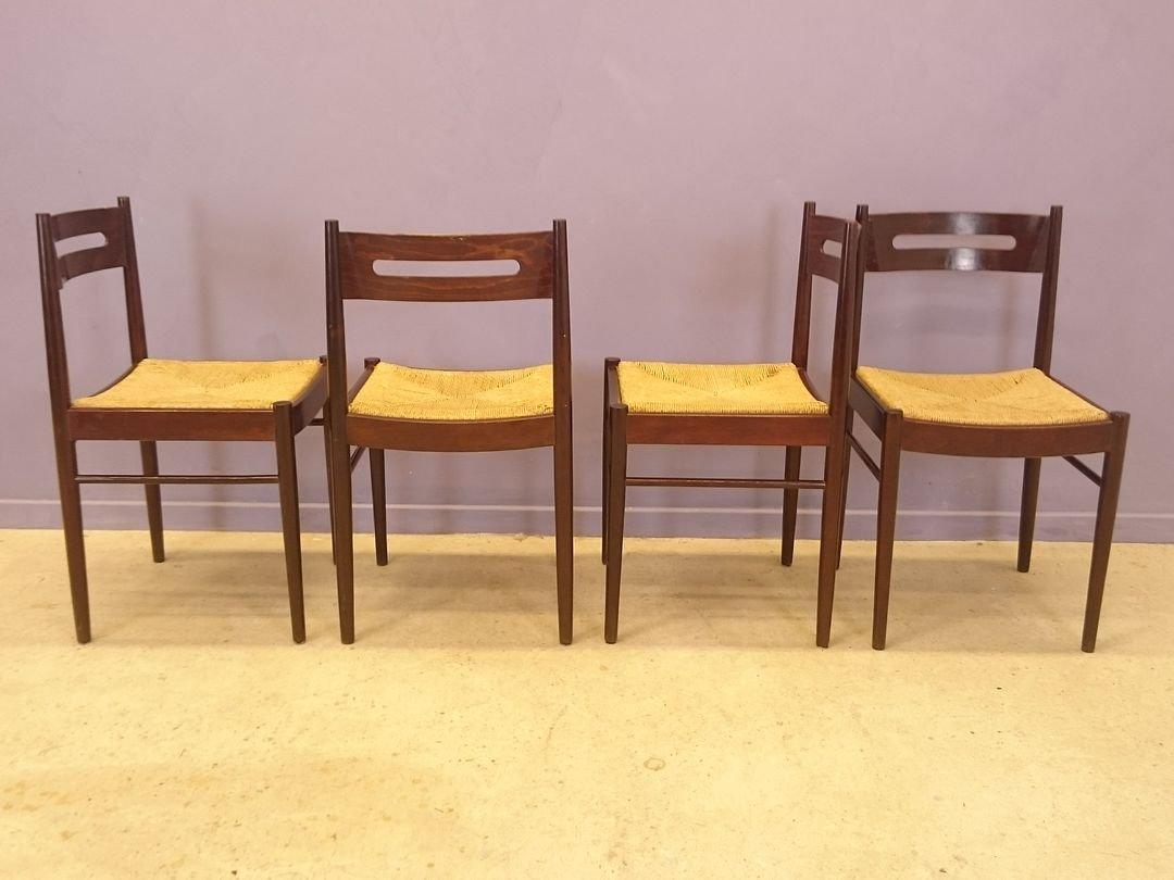st hle von dal vera 1950er 4er set bei pamono kaufen. Black Bedroom Furniture Sets. Home Design Ideas
