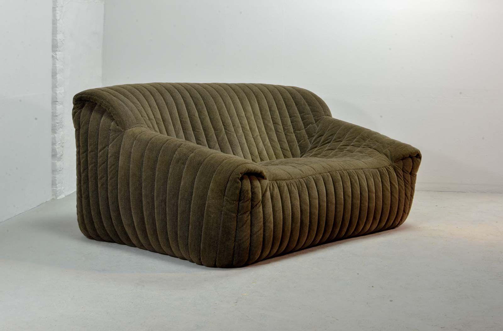 canap deux places par annie hieronymus pour ligne roset france 1970s en vente sur pamono. Black Bedroom Furniture Sets. Home Design Ideas