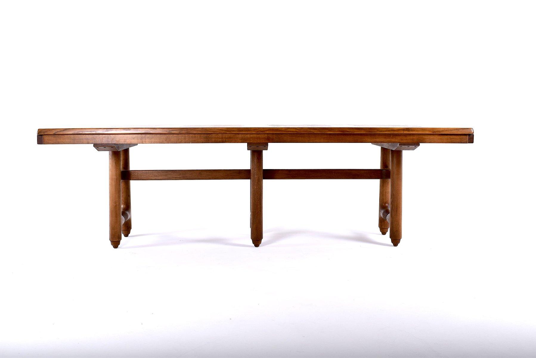 Gustave Tisch von Guillerme et Chambron für Votre Maison, 1970er