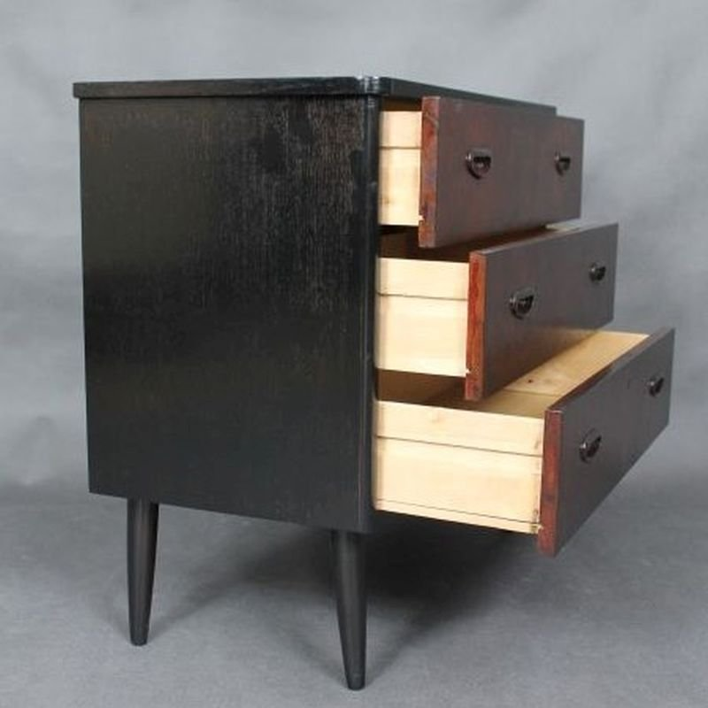 mid century kommode aus teak bei pamono kaufen. Black Bedroom Furniture Sets. Home Design Ideas