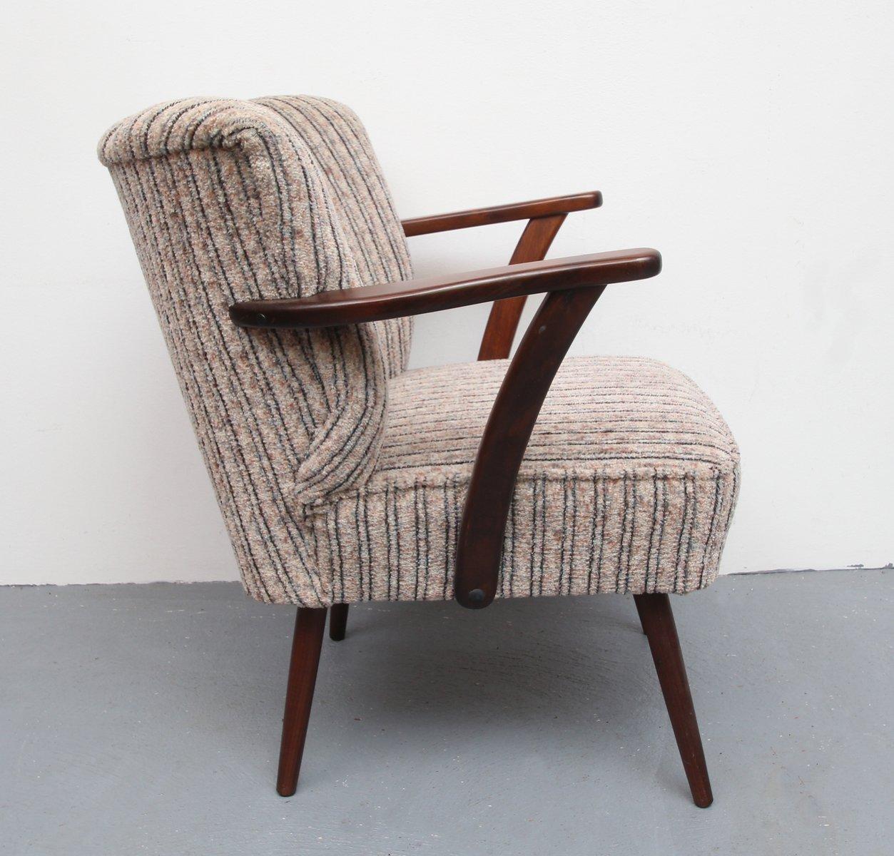 deutscher mid century sessel 1950er bei pamono kaufen. Black Bedroom Furniture Sets. Home Design Ideas