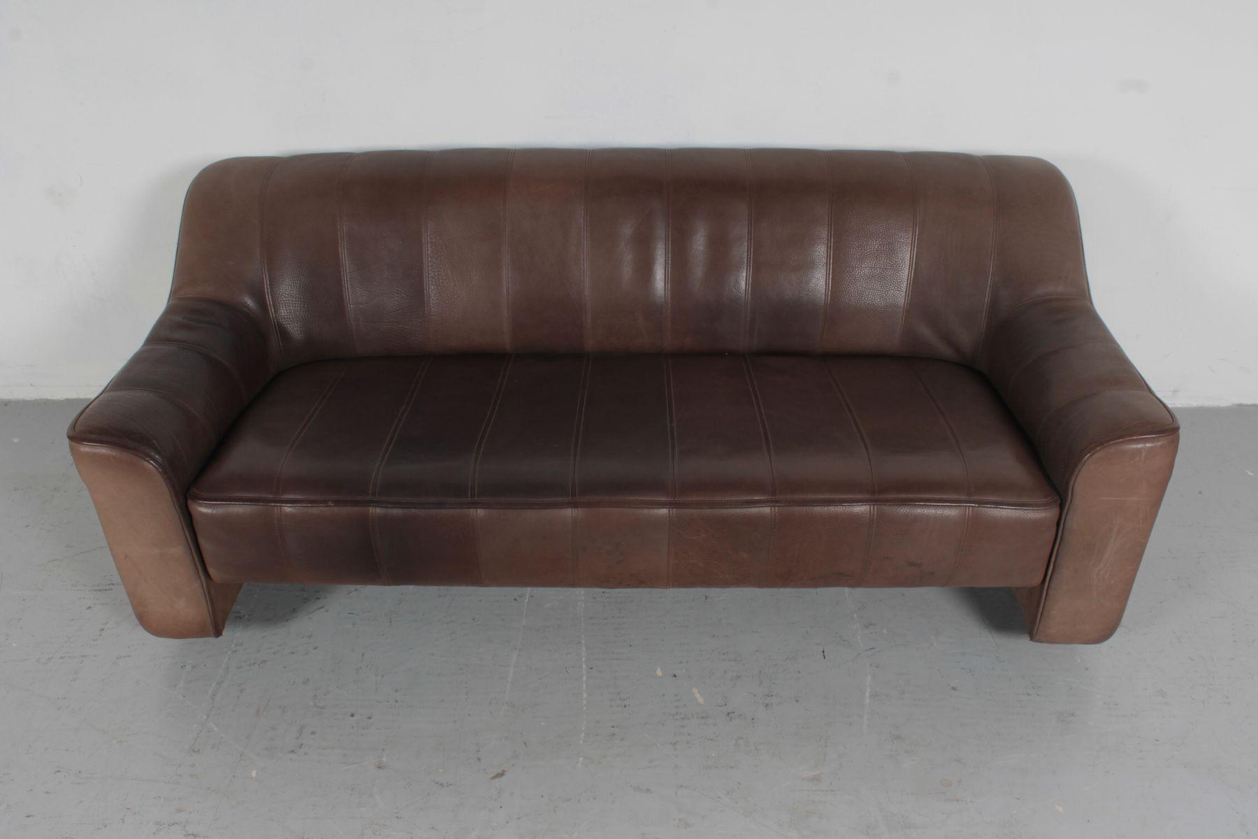 Ds44 3 sitzer sofa von de sede 1960er bei pamono kaufen for Sofa 7 sitzer