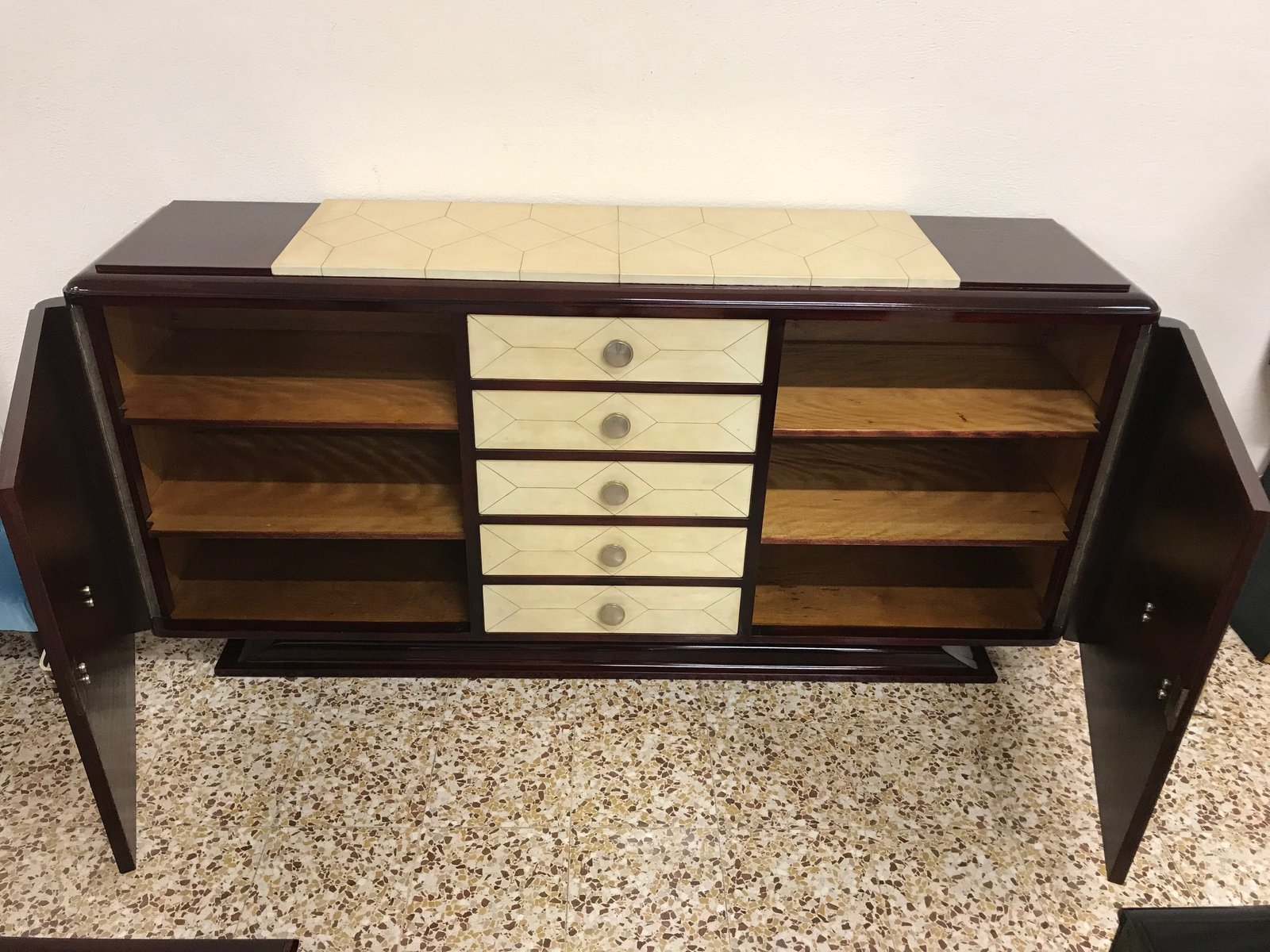 French Art Deco Buffet 1940s For Sale At Pamono