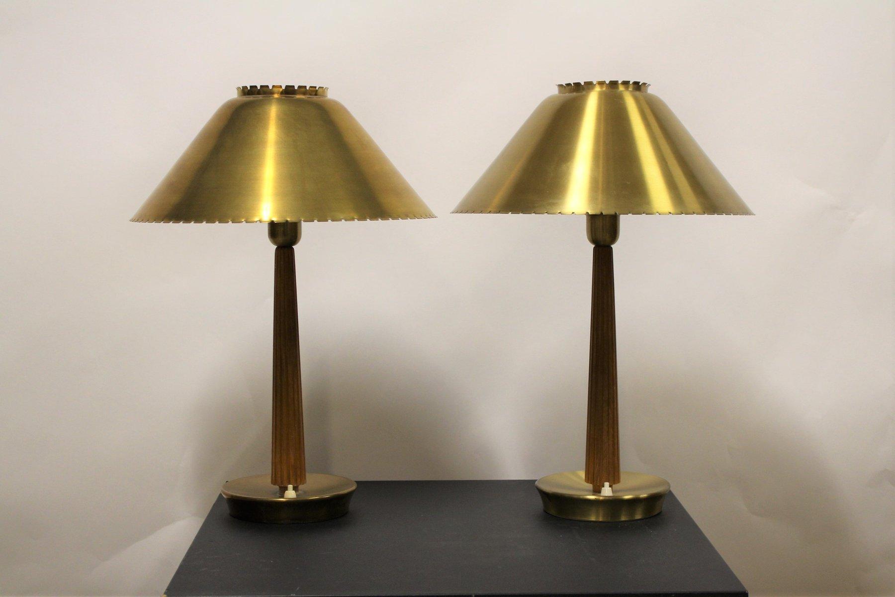 Schwedische Mid-Century Tischlampen von Hans Bergström für Asea, 1940e...